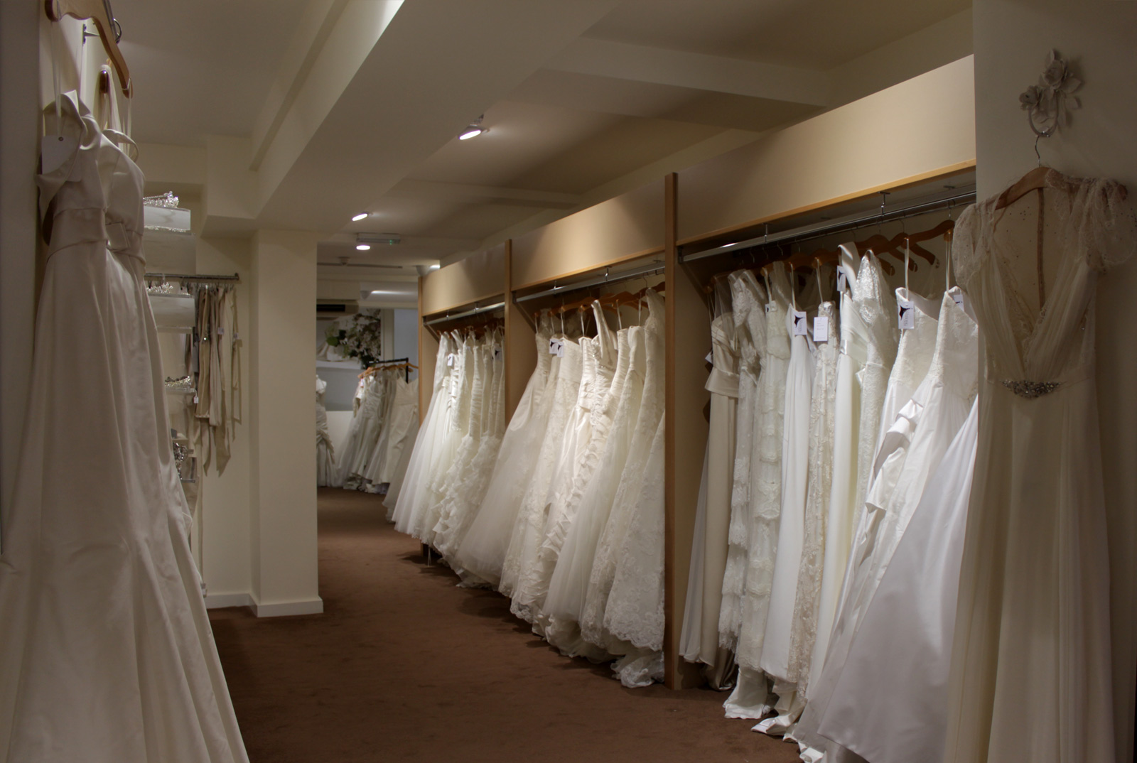 Wedding dress dept