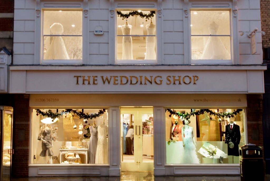 About The Wedding Shop In Colchester High Street, Essex