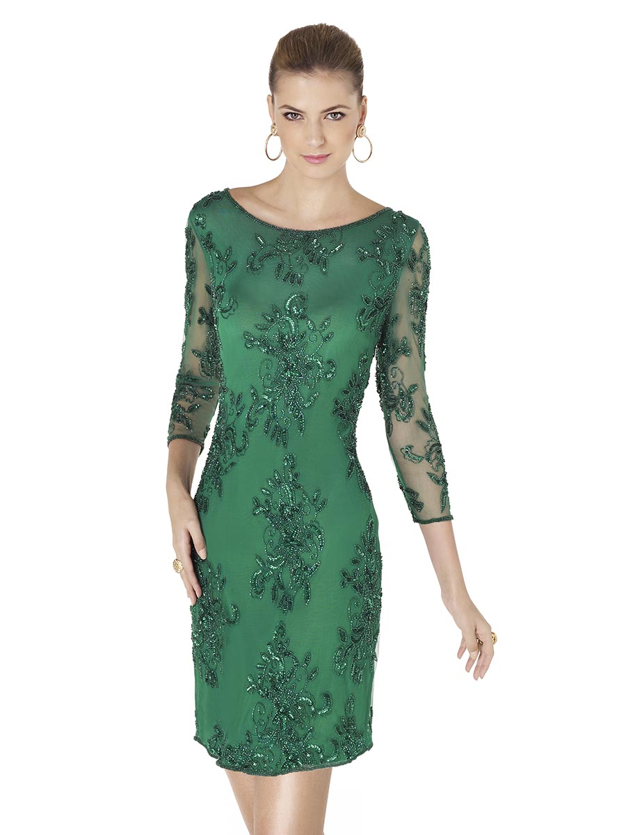 Pronovias Cocktail Amaia outfit in Evergreen - £396