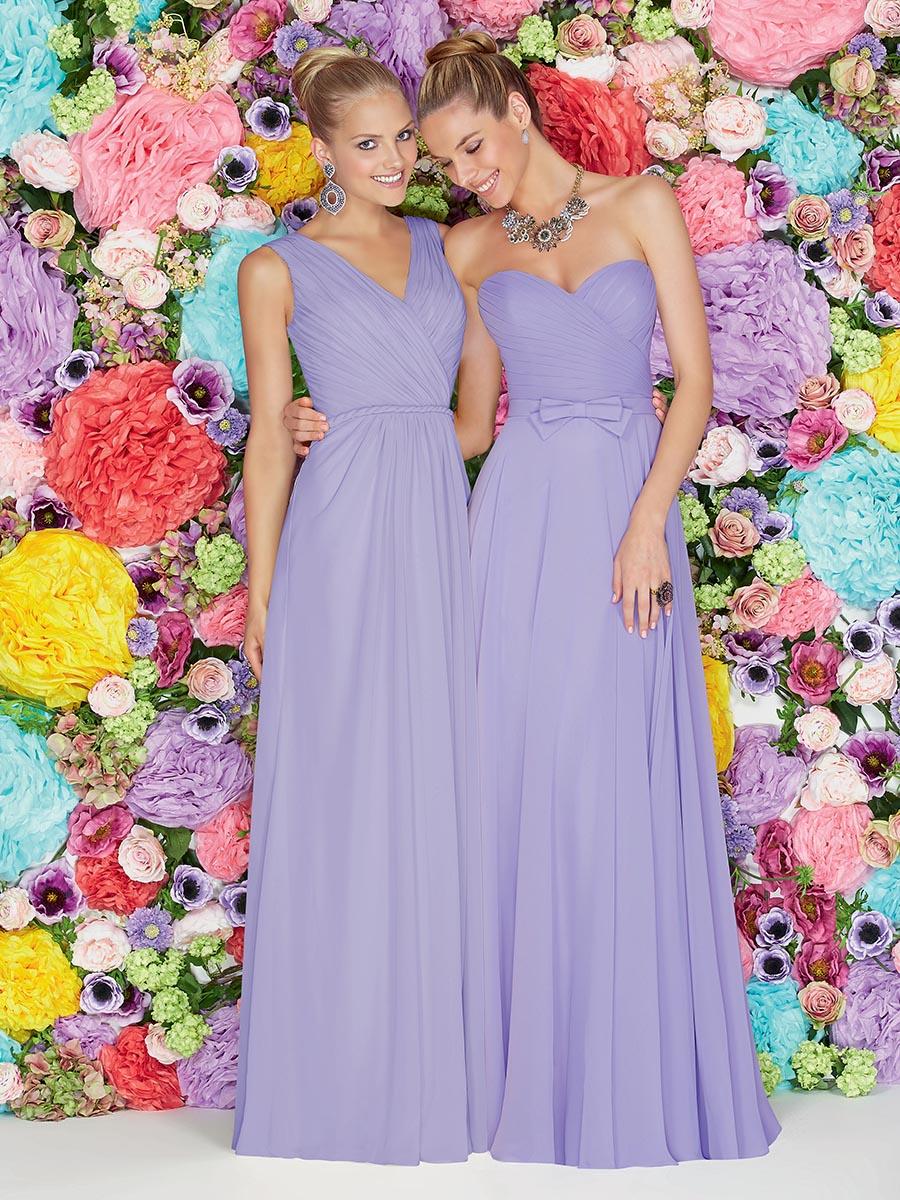 Ronald Joyce 29114 Size 16 Peacock Bridesmaid Dress - Sale price £50