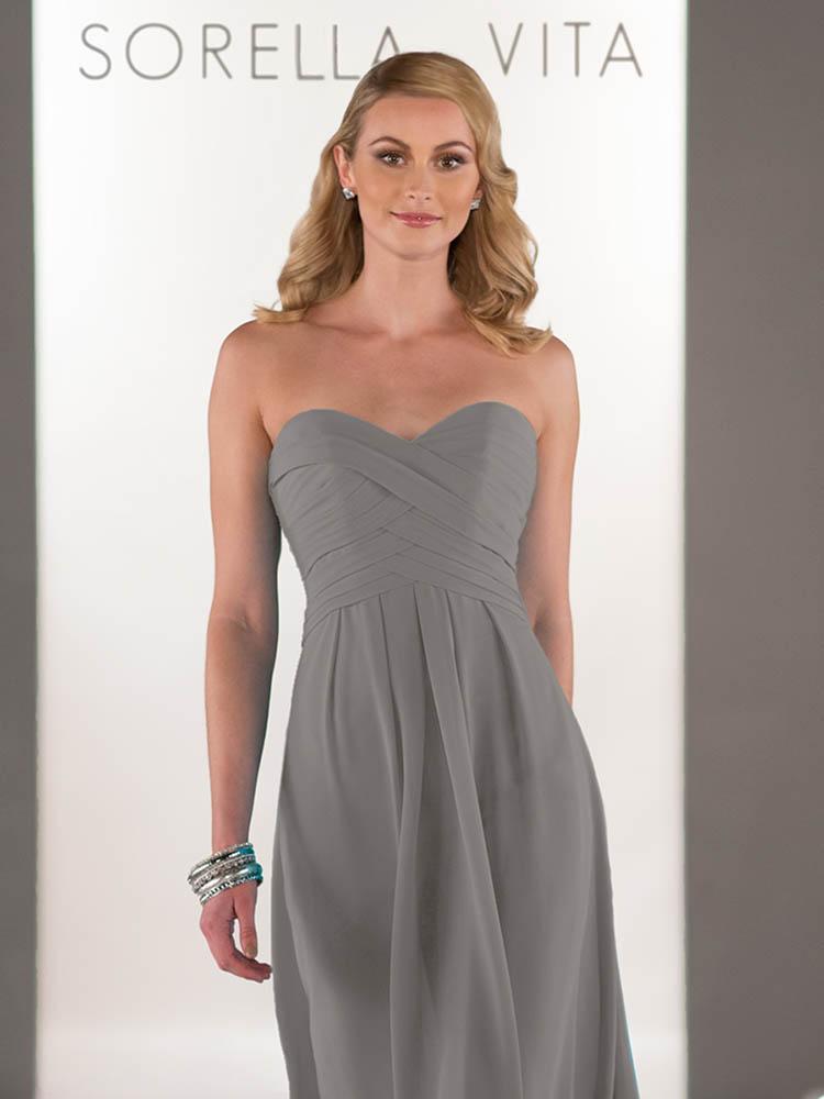 c6e24ba684e Sorella Vita 8405 Steel or Oasis Bridesmaid Dress - Sale price £50