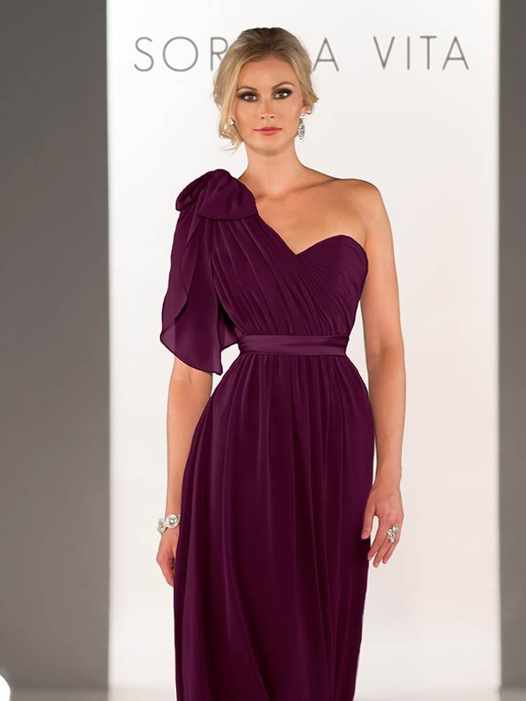 7212d6ac347 Sorella Vita 8472 Aubergine Bridesmaid Dress - Sale price £50