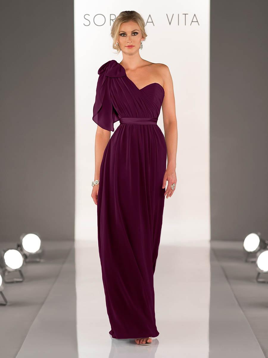 Sorella Vita 8472 Aubergine Bridesmaid Dress - Sale price £50
