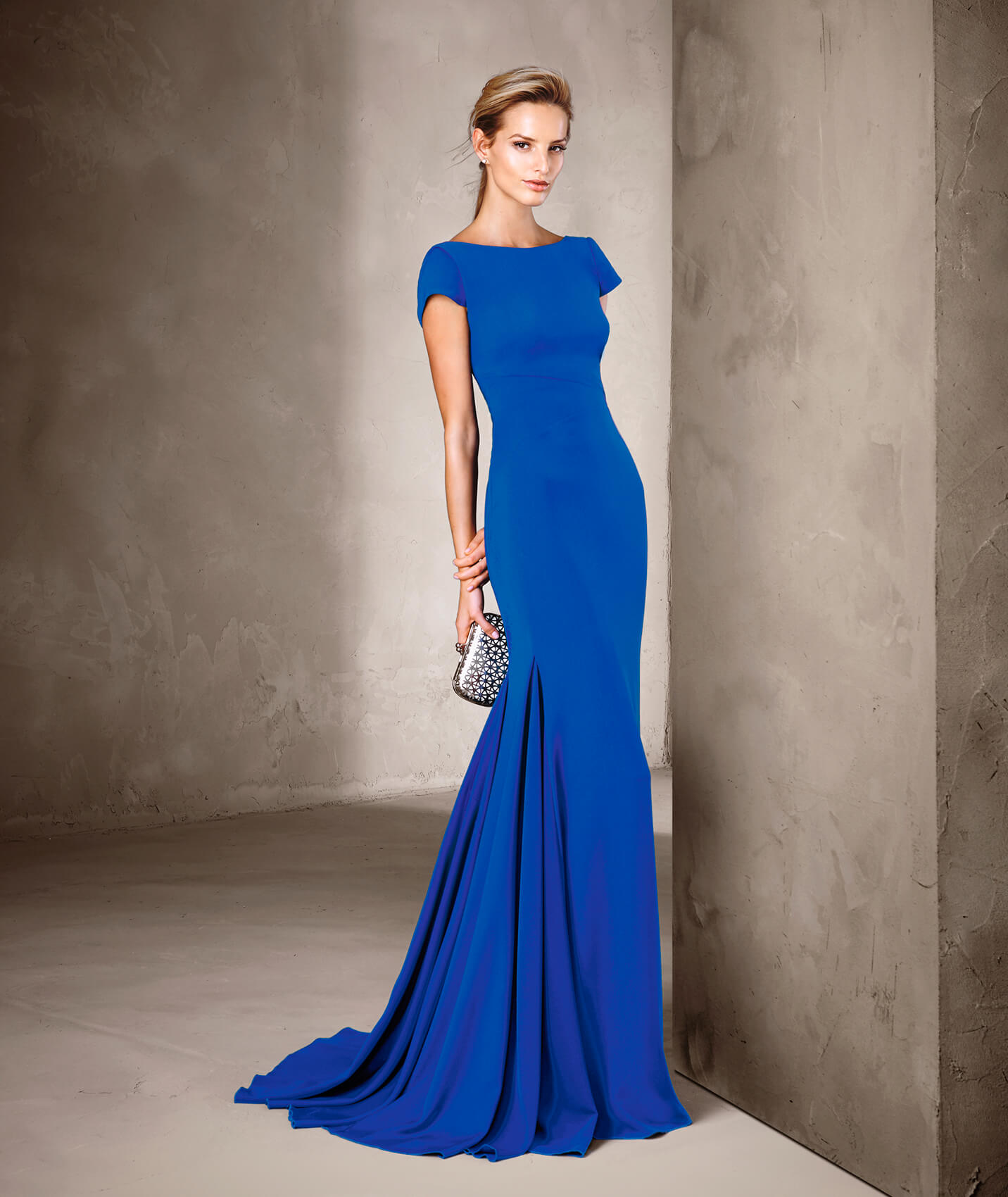 5cd3c10db96 Pronovias Cocktail Cirit outfit in Blue - £350