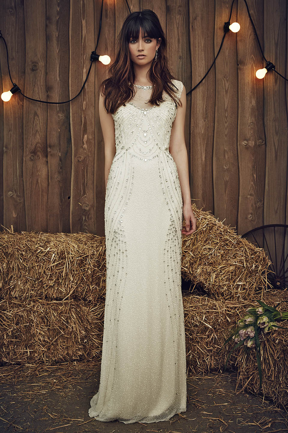 Jenny Packham Betsy Ivory Wedding Dress 2017 Collection