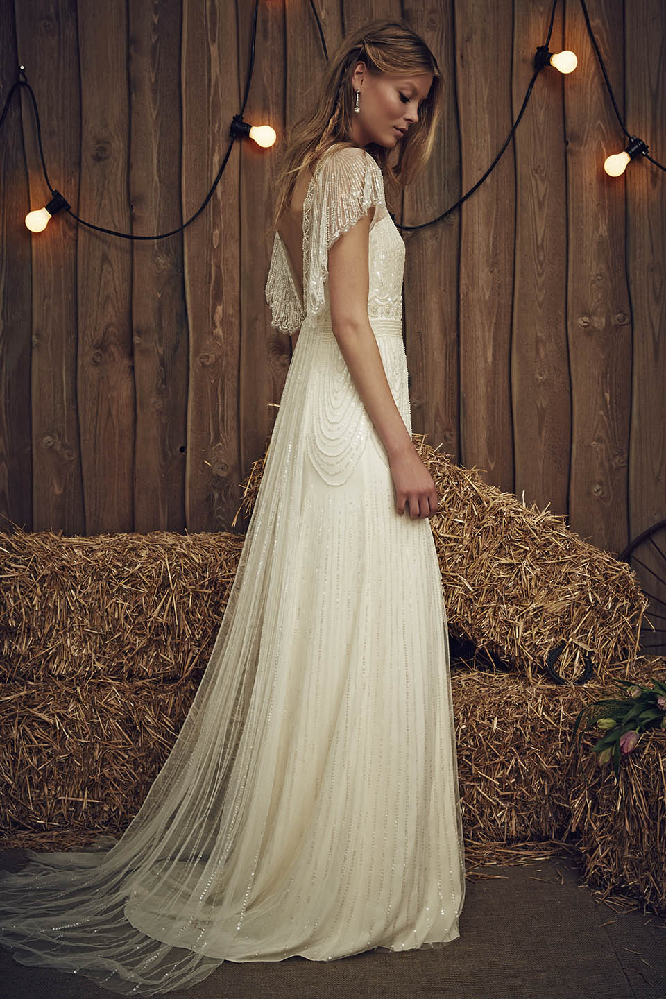 Jenny packham dolly ivory wedding dress from 2017 collection jenny packham dolly 1 jenny packham dolly 3 junglespirit Image collections