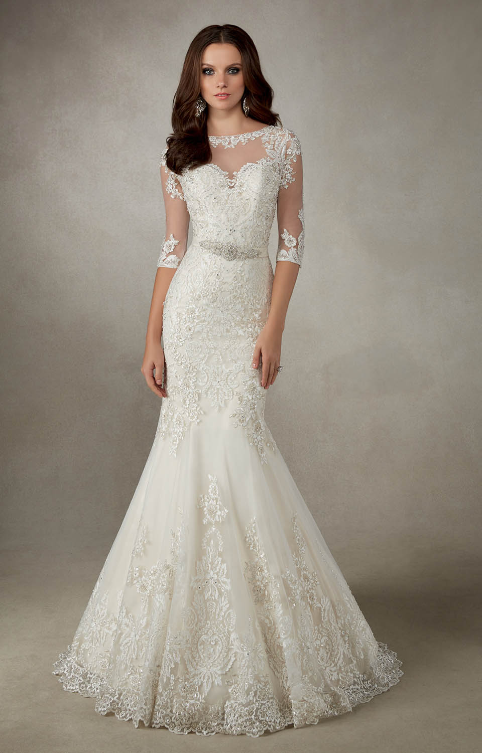 Ronald joyce alejandra fit flare wedding dress sale for Ronald joyce wedding dresses prices