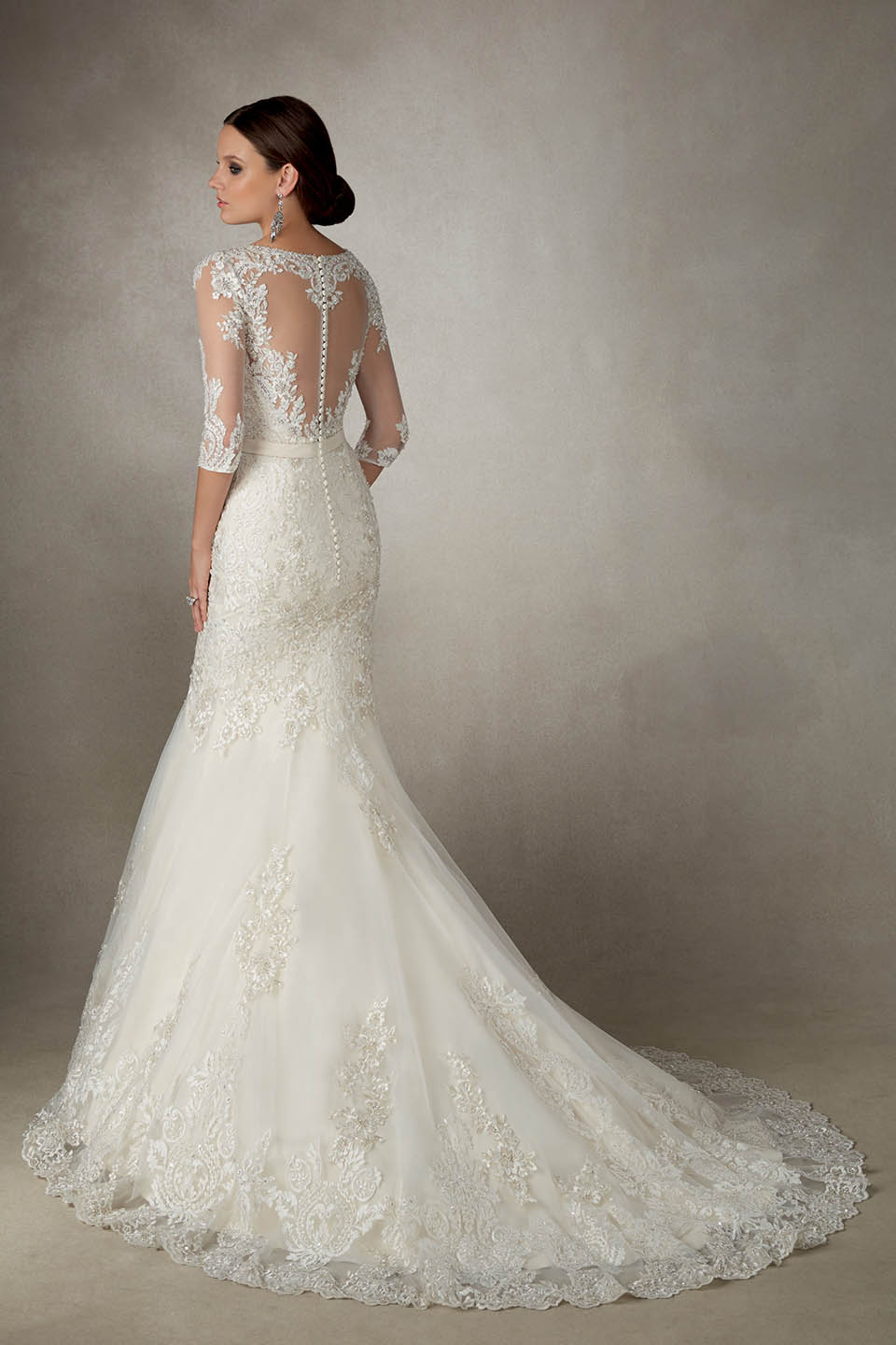 Ronald Joyce Alejandra Fit Amp Flare Wedding Dress Sale