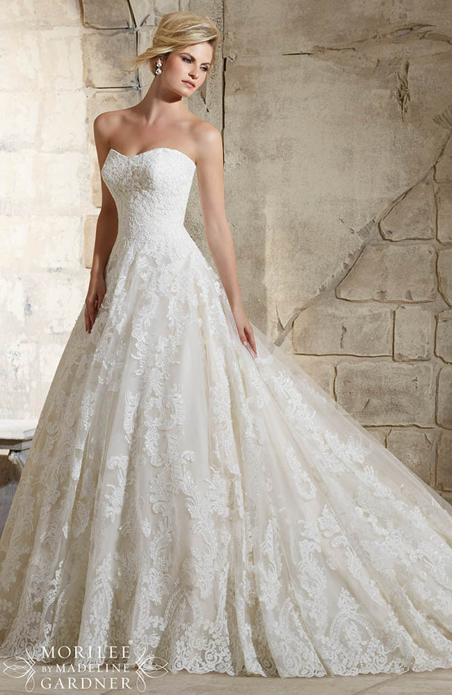 Mori Lee 2787 Classic Romantic Wedding Dress on sale at £1438