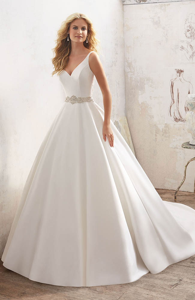 Mori Lee 8123 Wedding Dress - Size 14 on sale at £1140