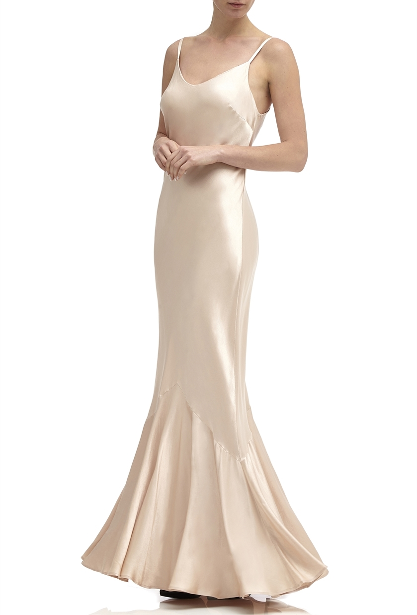 4b7d159835b Ghost Bella Bridesmaid Dress in Oyster - Price £245