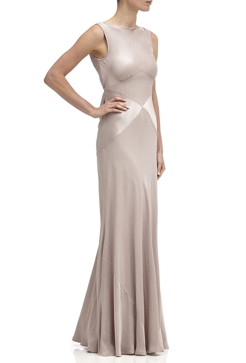 Ghost Taylor Bridesmaid Dress in Taupe - Price £225