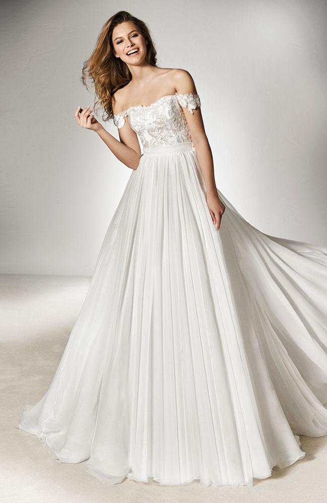 9778d83e215 Pronovias Xinel size 12 Wedding Dress - Sale price £650