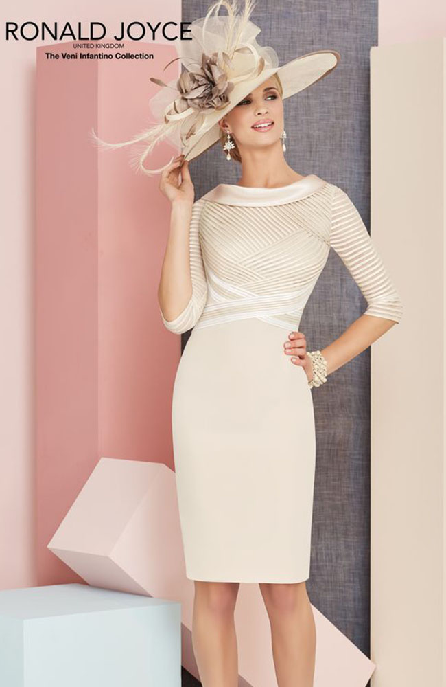 27d1f8f72dcf4 Veni Infantino 991306 Mother's Outfit in Almond & Ivory - £546