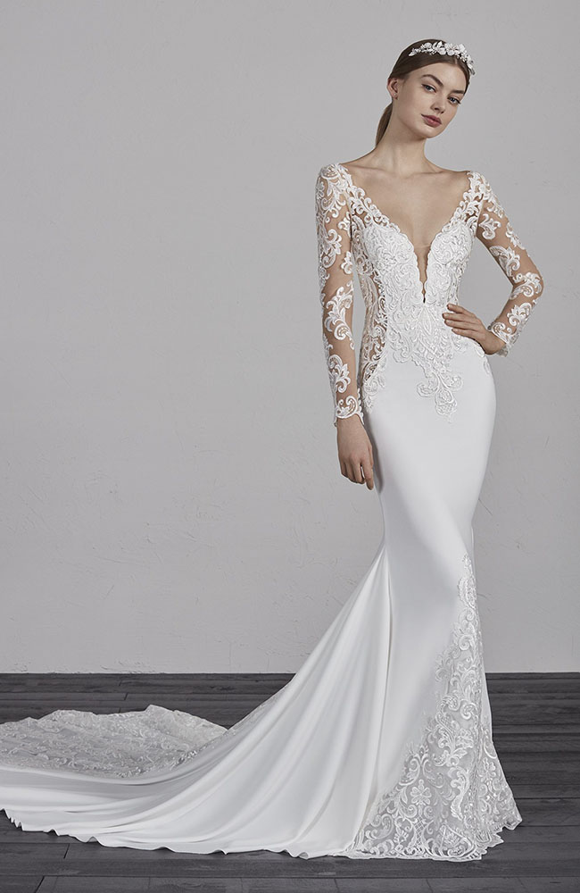Pronovias Wedding Dresses Spanish Style Designer Gowns Essex