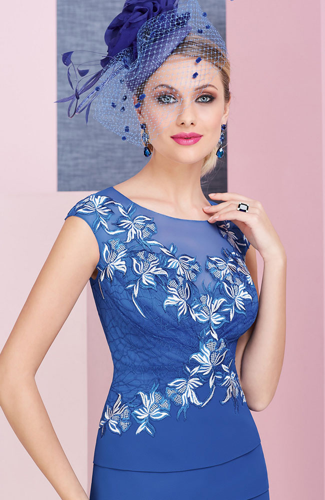 676e499655b Veni Infantino 991378 Indigo & Ivory Mother's Outfit - Sale price £630