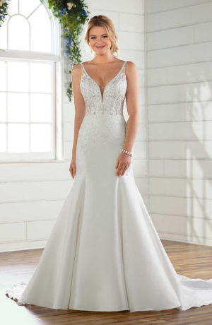 862202cac01 Essense D2433 Sweetheart Plus Size Wedding Dress - Sale price £1599