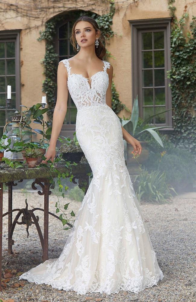 Wedding Dresses Mermaid.Mori Lee 5707 Primrose