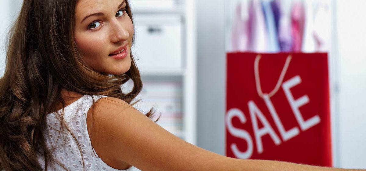 Sale girl