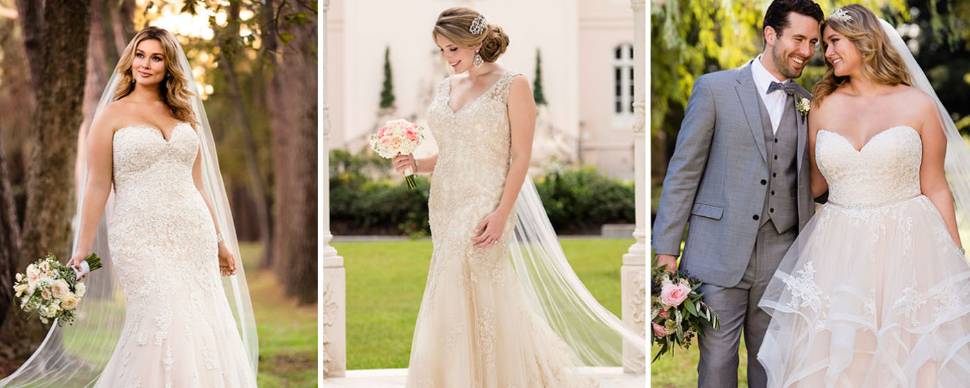 How to buy plus size wedding dresses